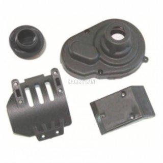 HBX part 3338-T001 Front Aluminum 2P Capped Shocks Clasps RC model car parts